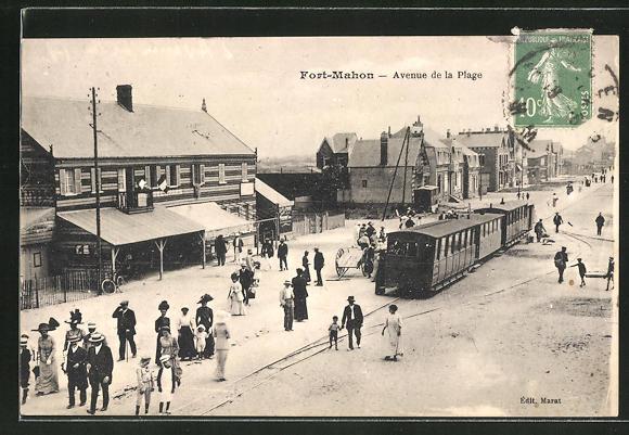 AK Fort-Mahon, Avenue de la Plage 0