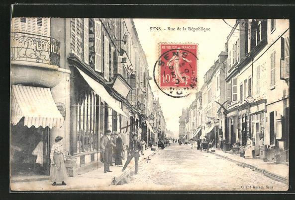 AK Sens, Rue de la Republique 0