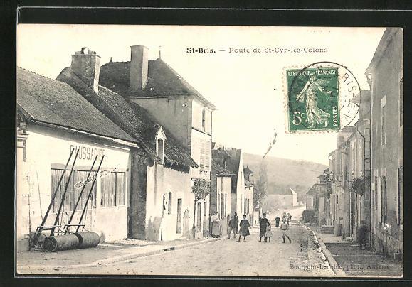 AK St-Bris, Route de St-Cyr-les-Colons 0