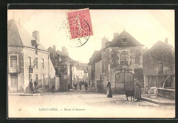 AK Saint-Bris, Route d'Auxerre