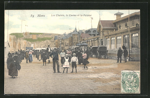 AK Mers, Les Chalets, le Casino et la Falaise 0