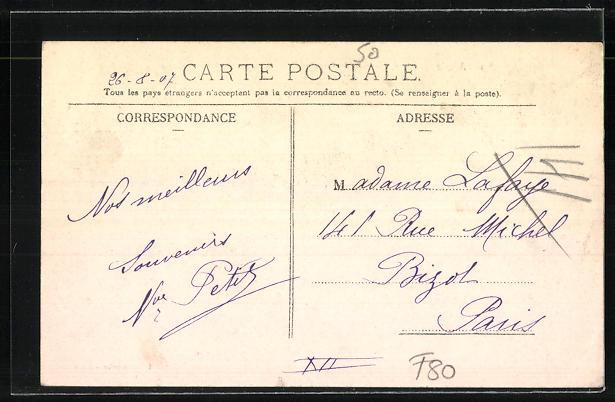 AK Mers, Les Chalets, le Casino et la Falaise 1