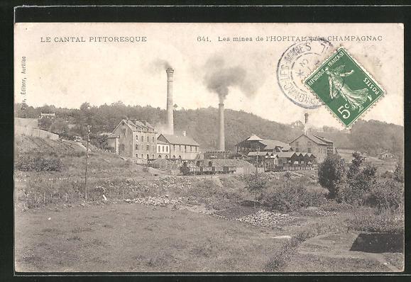 AK Champagnac, Les mines de l'Hopital