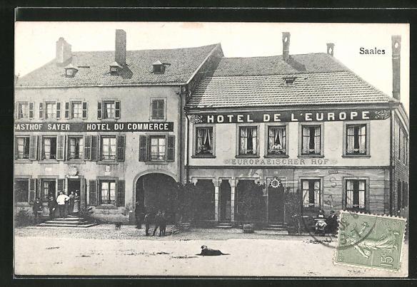 AK Saales, Hotel de L'Europe 0