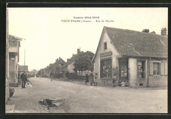 AK Vieux-Thann, Rue du Moulin 0