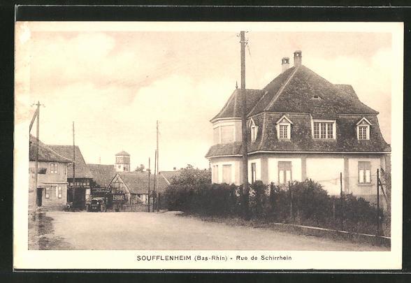 AK Soufflenheim, Rue de Schirrhein 0