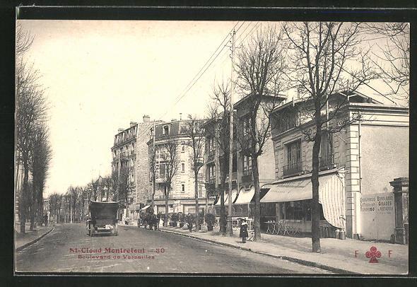 AK St-Cloud-Montretout, Boulevard de Versailles