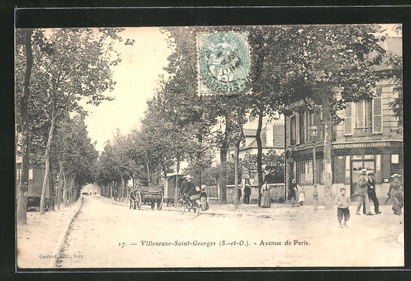 AK Villeneuve-Saint-Georges, Avenue de Paris 0