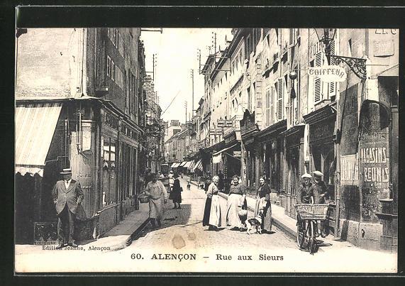 AK Alencon, Rue aux Sieurs 0