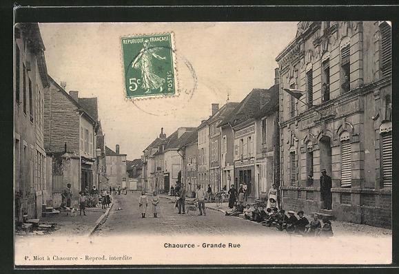 AK Chaource, Grande Rue 0