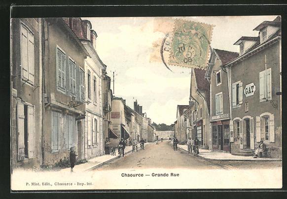 AK Chaource, Grande Rue