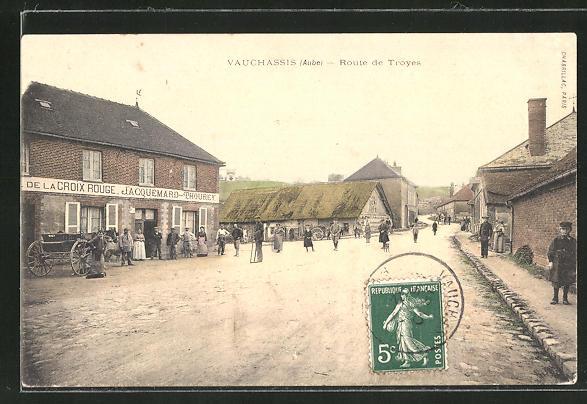 AK Vauchassis, Route de Troyes 0