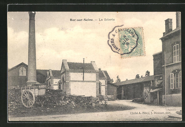 AK Bar-sur-Seine, La Scierie 0