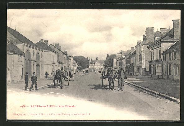 AK Arcis-sur-Aube, Rue Chassin