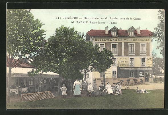 AK Petit-Bicetre, Hotel-Restaurant du Rendez-vous de la Chase 0