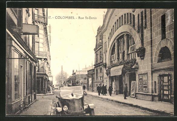 AK Colombes, Rue St-Denis 0