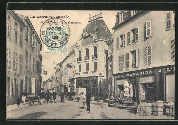 AK Toul, Rue Gambetta 0