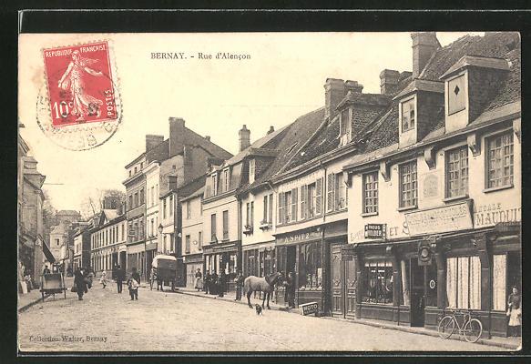 AK Berney, Rue d'Alencon 0