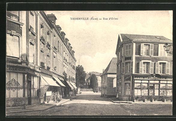 AK Thiberville, Rue d'Orbec 0