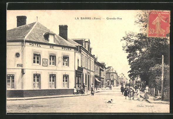 AK La Barre, Grande-Rue 0