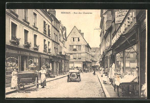 AK Bernay, Rue des Charettes 0