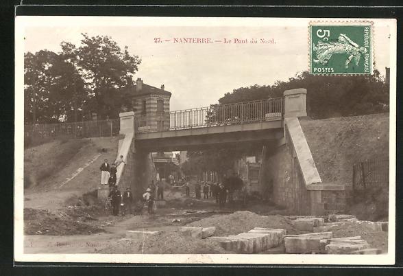 AK Nanterre, Le Pont du Nord 0