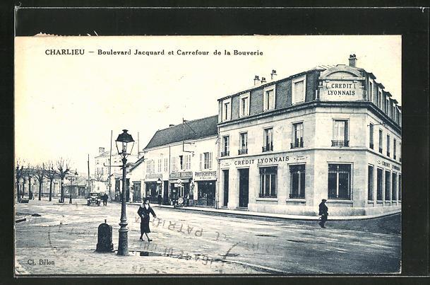 AK Charlieu, Boulevard Jacquard et Carrefour de la Bouverie 0