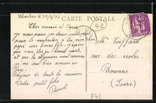 AK Charlieu, Boulevard Jacquard et Carrefour de la Bouverie 1