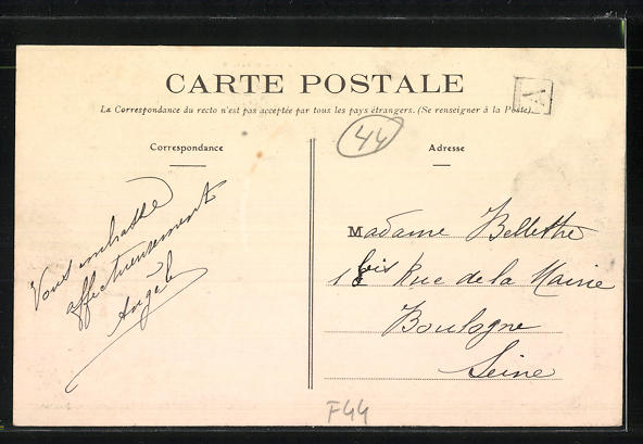 AK La Bernerie, La Rue de Noirmoutier 1