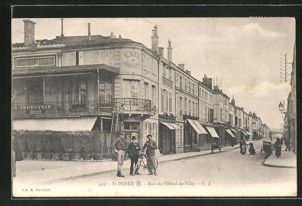 AK St-Dizier, Rue de l'Hotel-de-Ville 0