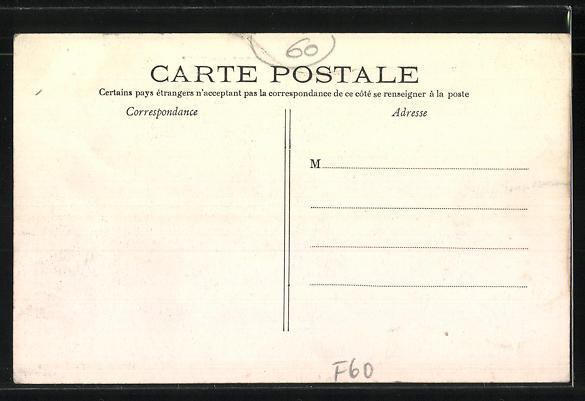 AK Ressons-sur-Matz, Postes et Télégraphes 1