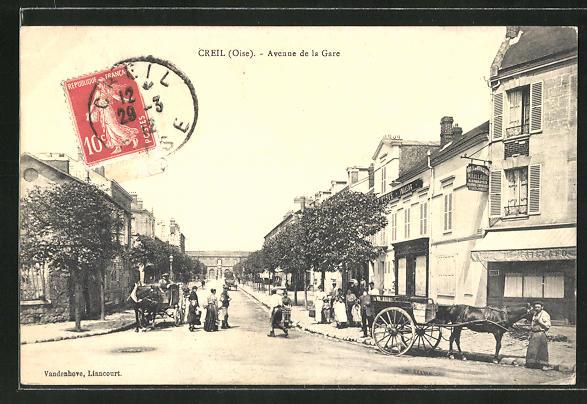 AK Creil, Avenue de la Gare 0