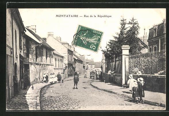 AK Montataire, Rue de la République