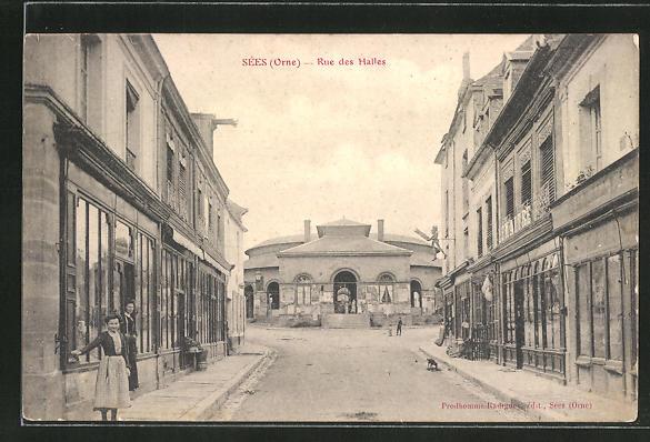 AK Sées, Rue des Halles 0