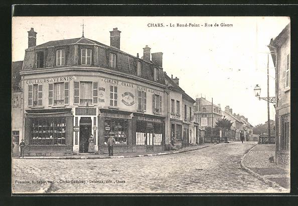 AK Chars, Le Rond-Point, Rue de Gisors 0