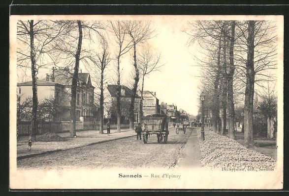 AK Sannois, Rue d'Epinay 0