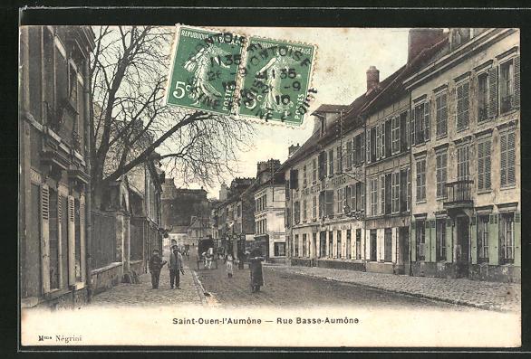 AK Saint-Quen-l'Aumone, Rue Basse-Aumone 0