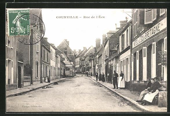 AK Courville, Rue de l'ècu 0