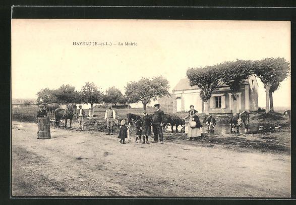 AK Havelu, La Mairie 0