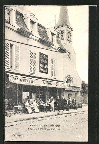 AK Joinville, Restaurant Loiseau, Cafe du Commerce 0