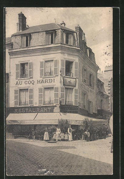 AK Pontoise, Hotel Au Coq Hardi, Restaurant 0