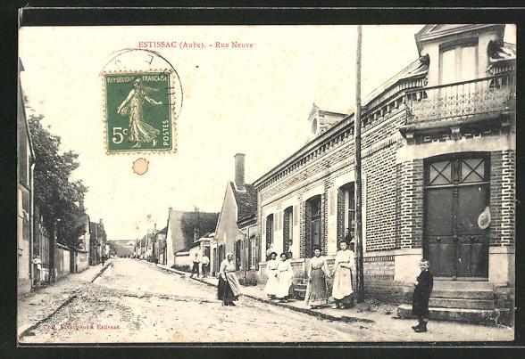 AK Estissac, Rue Neuve, Strassenpartie 0