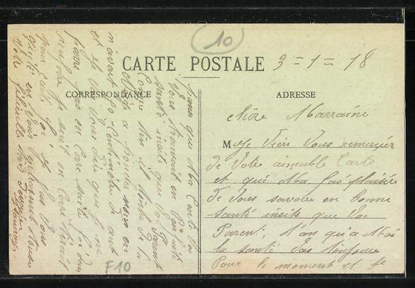 AK Estissac, Rue de la Republique, Hotel de la Gare, Kinderwagen 1