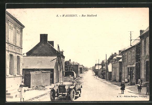 AK Wassigny, Rue Maillard 0
