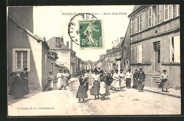 AK Buzancais, Rue des Clos 0