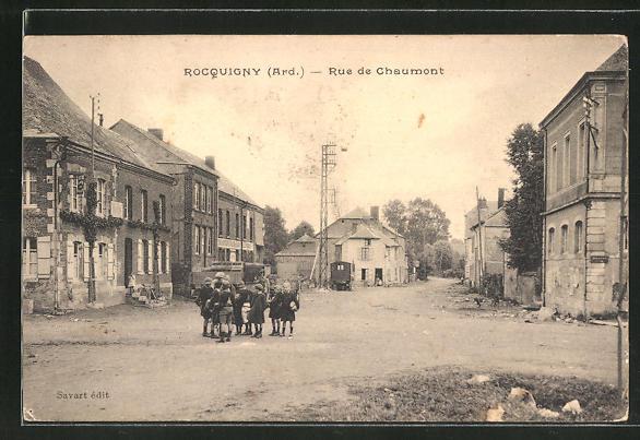 AK Rocquigny, Rue de Chaumont 0