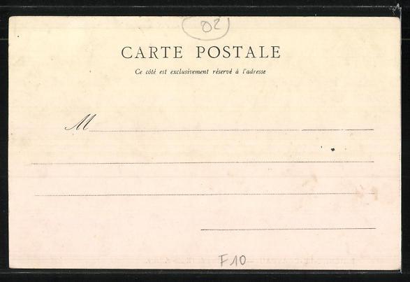 AK Brienne-le-Chateau, Grande Rue de l'Ecole-Militaire 1
