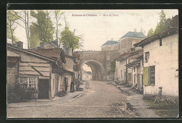 AK Brienne-le-Chateau, Rue du Pont 0