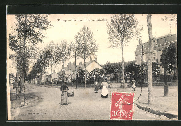 AK Toucy, Boulevard Pierre-Larousse 0