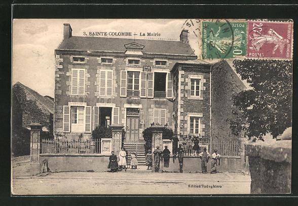 AK Sainte-Colombe, La Mairie 0